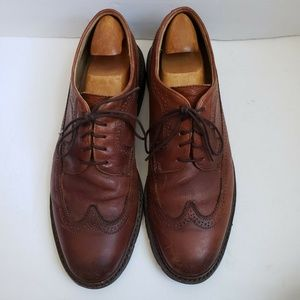 Frye Sz 11.5 Jones Wingtip Mens Brown Leather Shoe